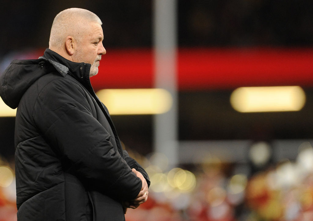 Wales coach Warren Gatland: Top ranking is just a number