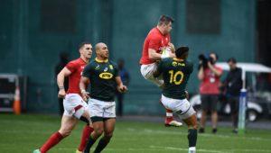 Springboks vs Wales