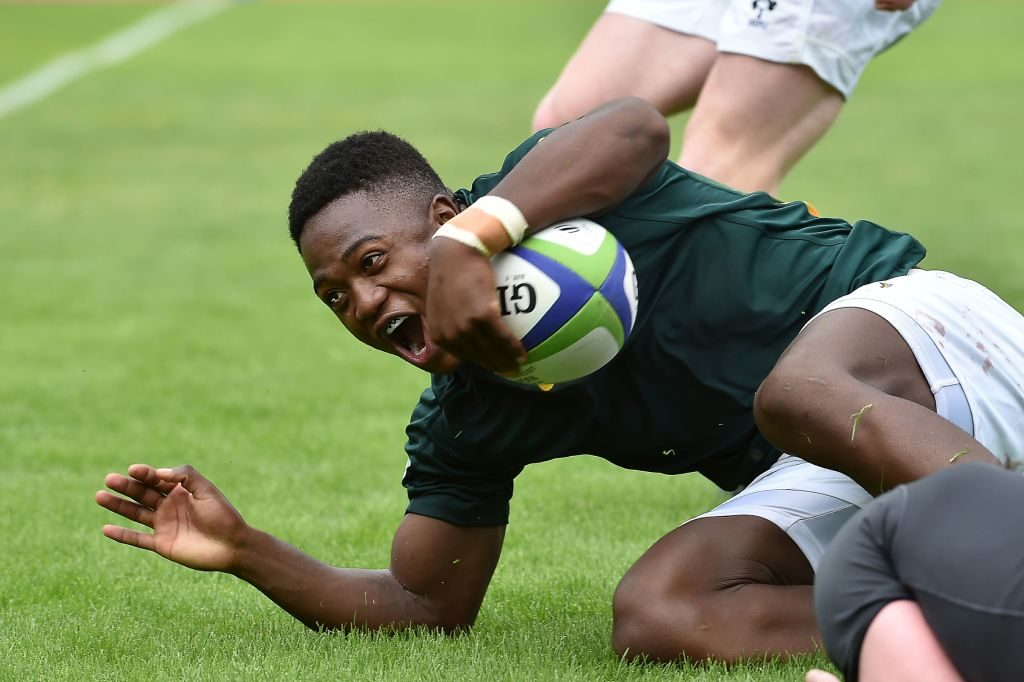 Simelane at wing for Junior Boks