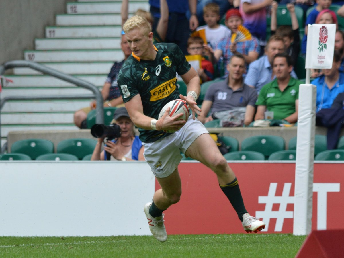 Blitzboks top pool after England win at Dubai Sevens