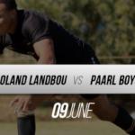LIVE: Boland Landbou vs Paarl Boys' High