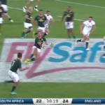 Highlights: Springboks vs England