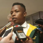 Watch: Nkosi on Bok debut