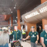 Watch: Blitzboks arrive in Cape Town