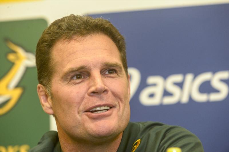 Bok coach Rassie Erasmus
