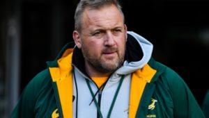 Bok assistant coach Matt Proudfoot