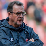 Lions coach Swys de Bruin