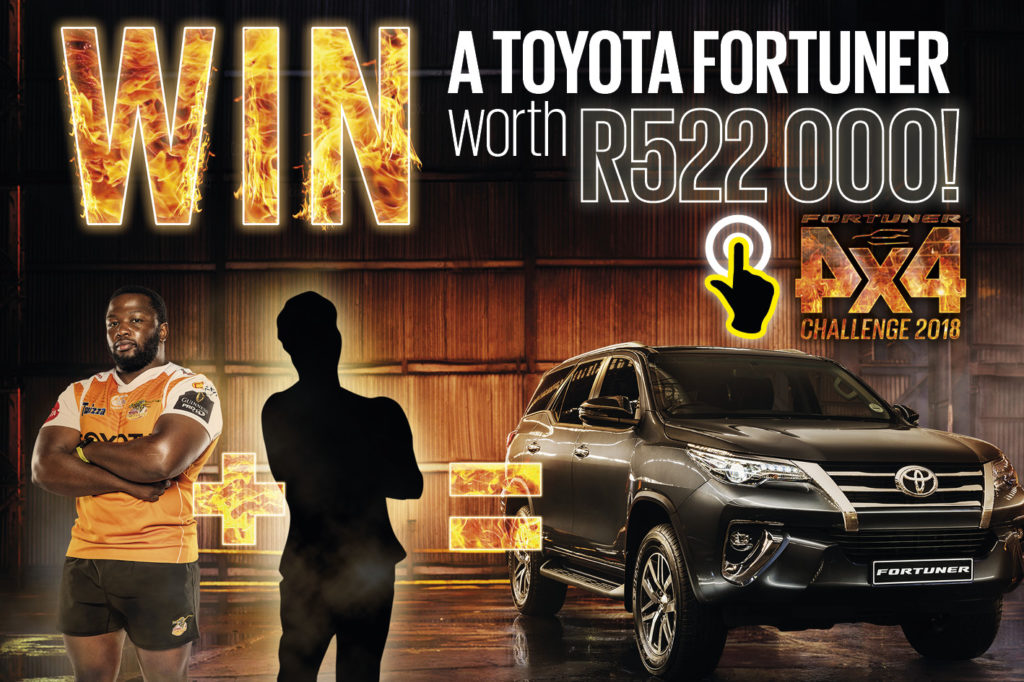 Fit enough to win a Toyota Fortuner?