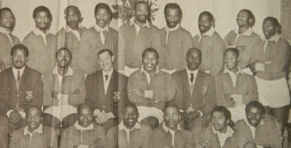 Black legend: Temba Ludwaba