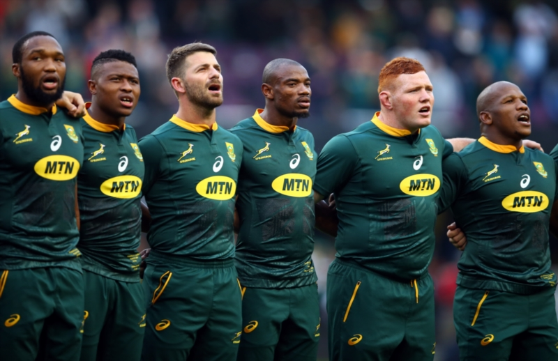 Springboks anthem