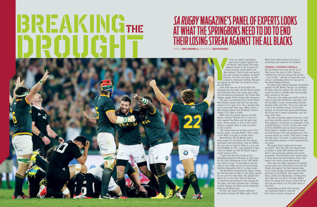 How Springboks can beat All Blacks