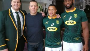 Cheslin Kolbe before his Test debut