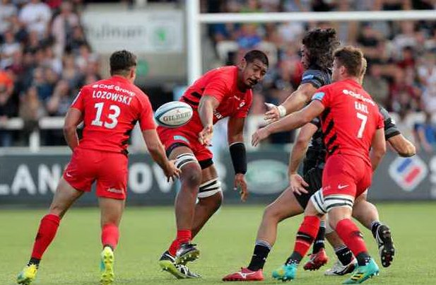 Saracens lock WIll Skelton