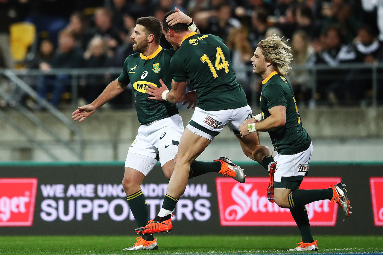 Springboks, Willie le Roux