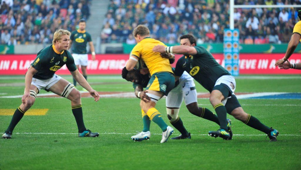Springboks tackle