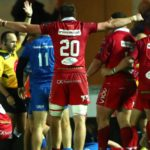 Scarlets take down Leinster