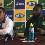 Watch: Bok press conference (Kolbe)