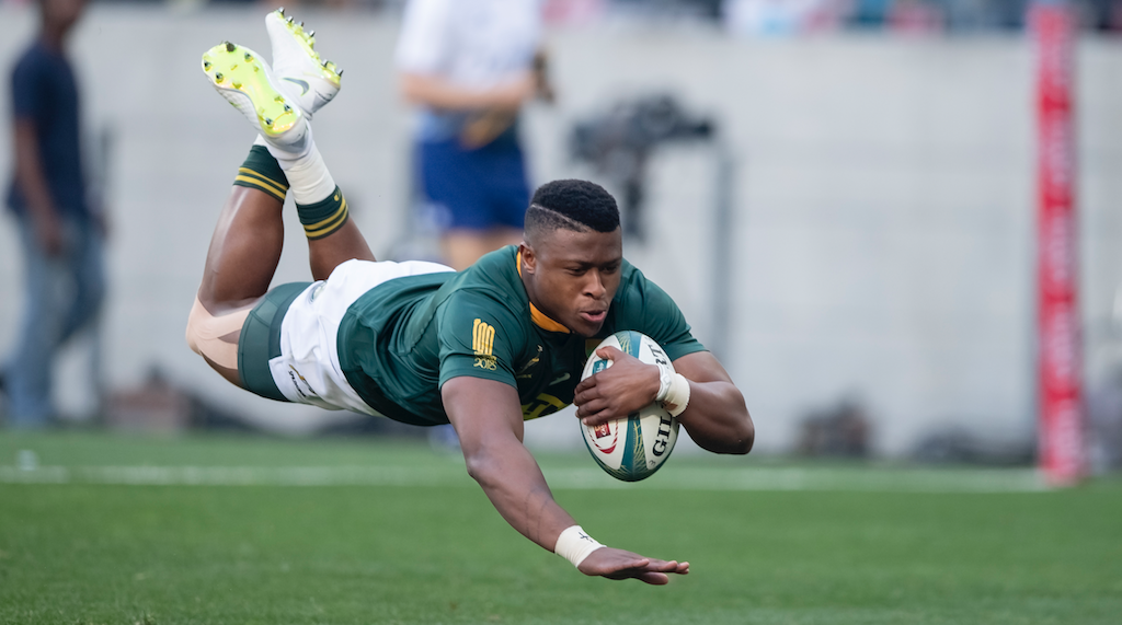 Aphiwe Dyantyi to miss start of Rugby Championship