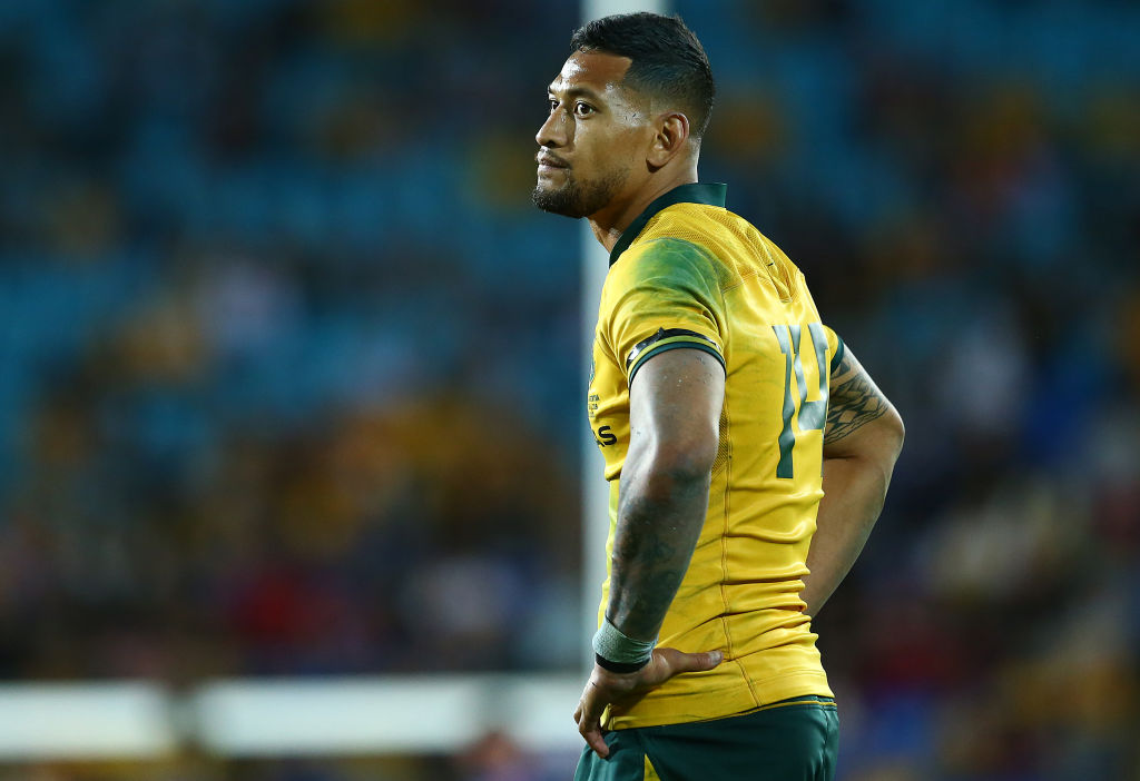 No rugby league 'red carpet' for Israel Folau