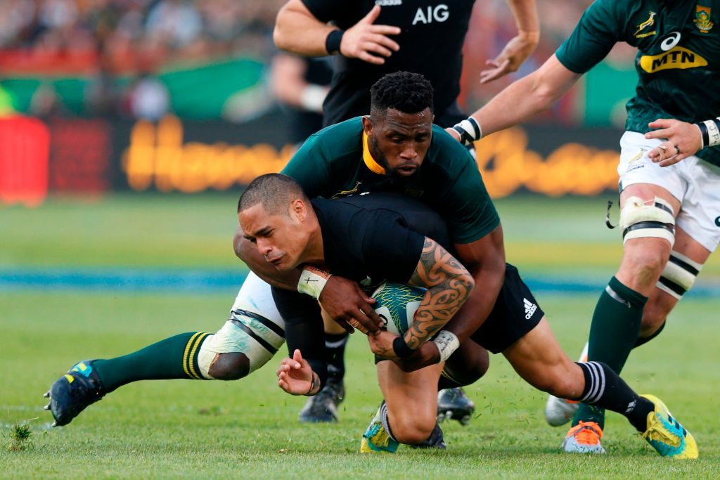 Siya Kolisi, Aaron Smith