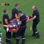 Watch: Goosen suffers ankle injury