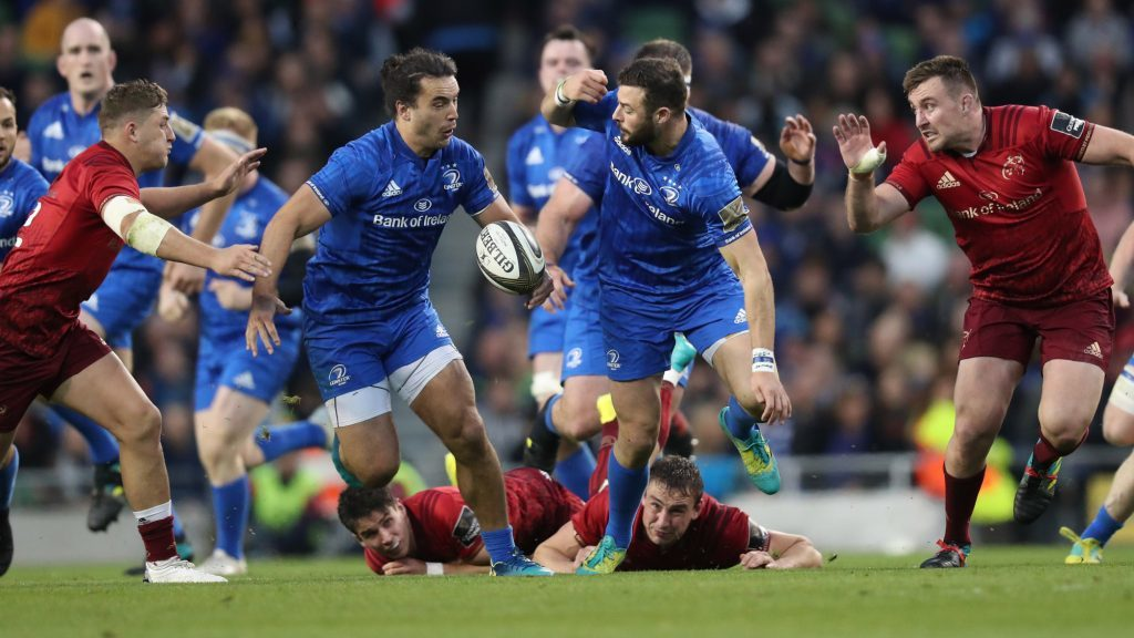 Lowe double lifts Leinster past Munster