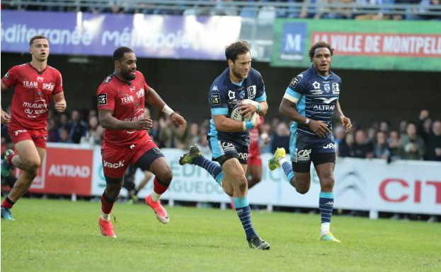 Montpellier too good for Toulon
