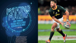 Willie le Roux SA Rugby magazine