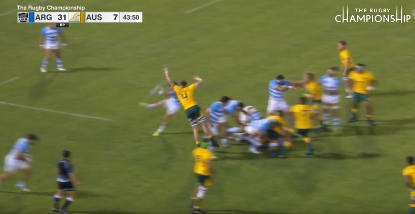 Watch: Rugby Champs Play of the Week