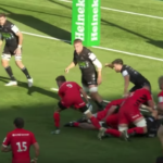 Highlights: Glasgow vs Saracens