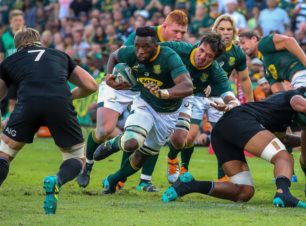 Springboks Siya Kolisi