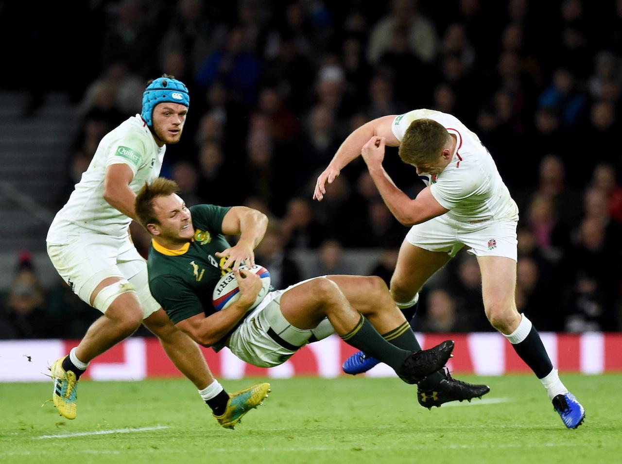 England captain Owen Farrell changes tackle technique