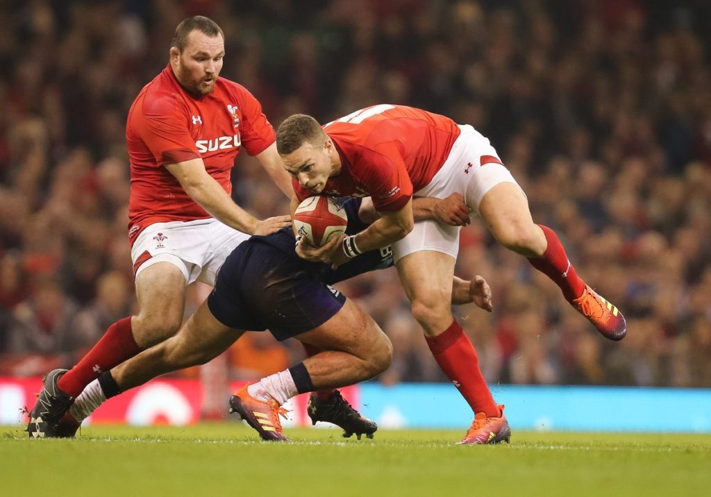 Wales take down Scotland