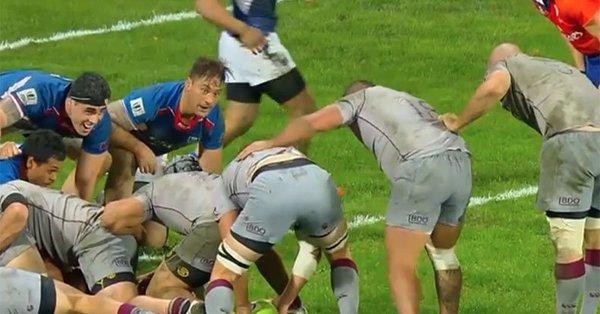 Georgia fightback stuns Samoa