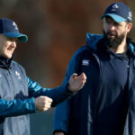 Joe Schmidt and Andy Farrell