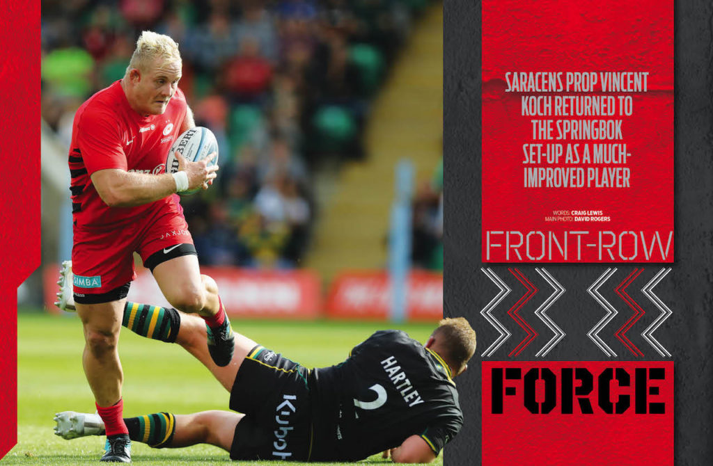 Vincent Koch SA Rugby magazine