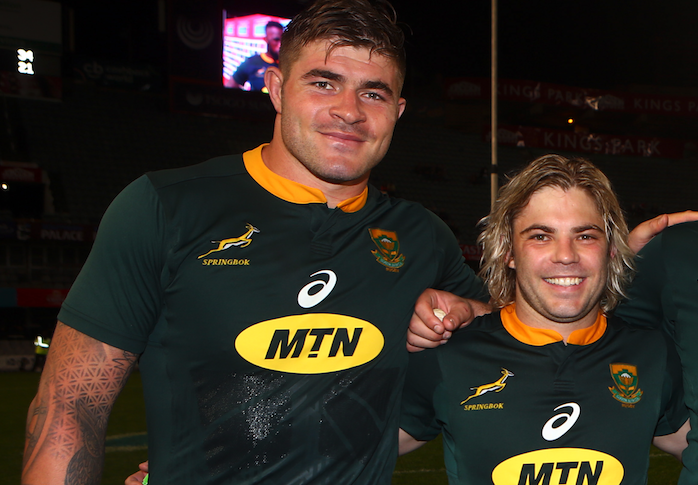 Bok duo up for World Rugby award