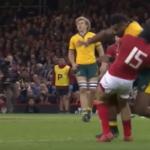 Watch: Kerevi hit on Halfpenny