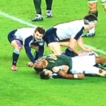 Watch: Alleged Kolisi headbutt on Horne