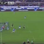 Highlights: Italy vs All Blacks