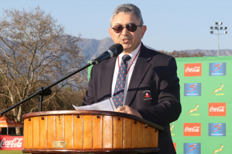 Western Province Rugby president Zelt Marais