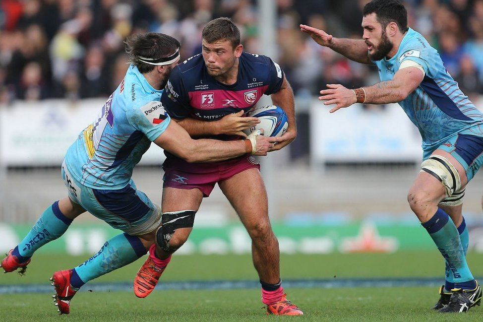Visagie leads Gloucester's charge