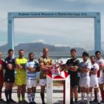 Watch: Captains visit Robben Island