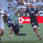 Watch: USA player makes Kiwi road kill