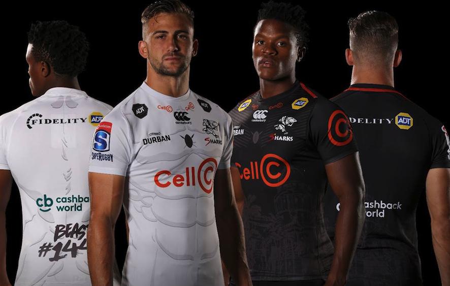 f8d2328ef6e Beast Mtawarira inspires Sharks' Super Rugby away jersey