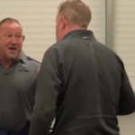 Watch: Sale coach clashes with journalist