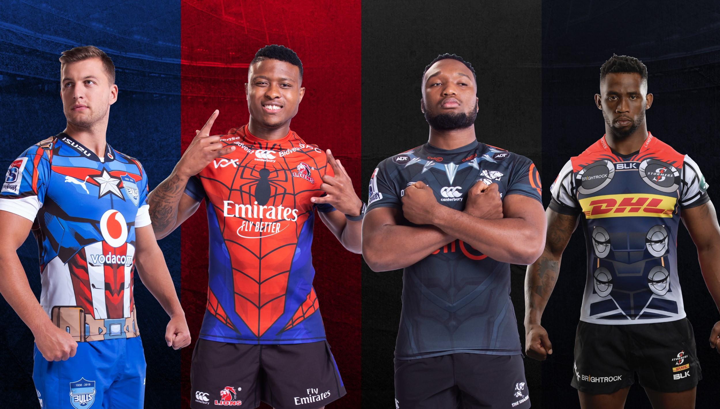 8cd8e92e46e Superhero jerseys launched for Vodacom Super Rugby