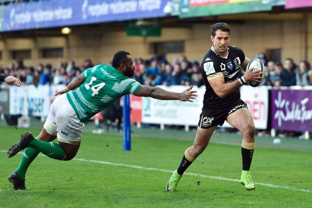 Immelman grabs brace for Montpellier