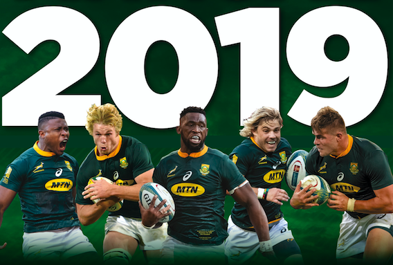 Win SA Rugby Annual signed by Rassie!
