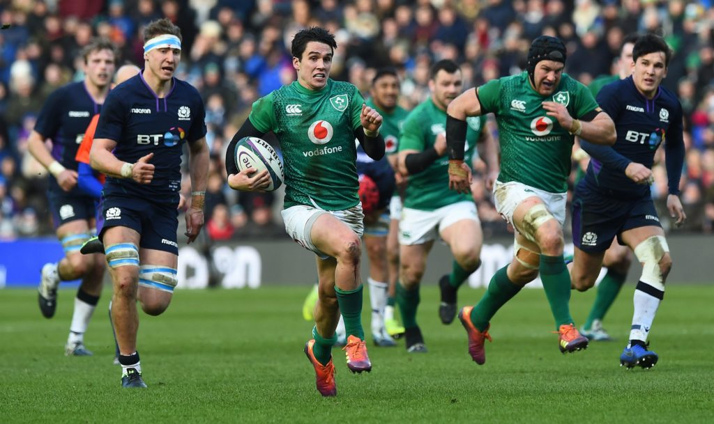 Ireland wear down Scotland